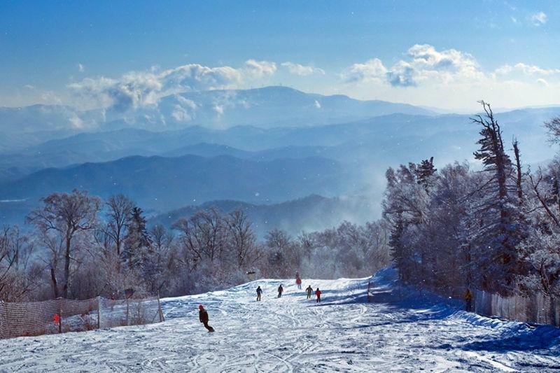新華鷹航拍滑雪聖地·亞布力