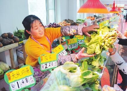 農超對接蔬菜俏銷