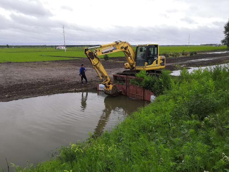 創業農場水稻田管理見實效